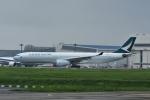 よしポンさんが、成田国際空港で撮影したキャセイパシフィック航空 A330-342の航空フォト(写真)