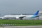 よしポンさんが、成田国際空港で撮影したガルーダ・インドネシア航空 777-3U3/ERの航空フォト(写真)