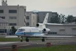 MiYABiさんが、徳島空港で撮影した海上保安庁 Falcon 900の航空フォト(写真)