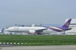 よしポンさんが、成田国際空港で撮影したタイ国際航空 777-3AL/ERの航空フォト(写真)