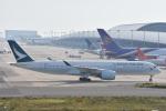 ITM44さんが、関西国際空港で撮影したキャセイパシフィック航空 A350-941XWBの航空フォト(写真)