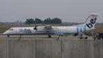 航空見聞録さんが、ブリュッセル国際空港で撮影したフライビー DHC-8-402Q Dash 8の航空フォト(写真)