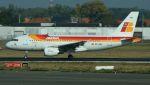 航空見聞録さんが、ブリュッセル国際空港で撮影したイベリア航空 A319-111の航空フォト(写真)