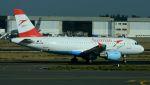 航空見聞録さんが、ブリュッセル国際空港で撮影したオーストリア航空 A319-112の航空フォト(写真)