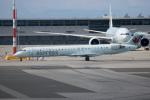 チャッピー・シミズさんが、バンクーバー国際空港で撮影したエア・カナダ ジャズ CL-600-2D15 Regional Jet CRJ-705ERの航空フォト(写真)