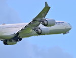 gomaさんが、ミュンヘン・フランツヨーゼフシュトラウス空港で撮影したルフトハンザドイツ航空 A340-642Xの航空フォト(写真)