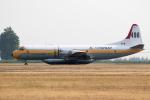 チャッピー・シミズさんが、アボッツフォード国際空港で撮影したAir Spray (1967) Ltd L-188 Electraの航空フォト(写真)