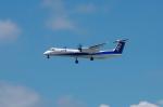 mild lifeさんが、伊丹空港で撮影したANAウイングス DHC-8-402Q Dash 8の航空フォト(写真)