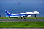 まいけるさんが、羽田空港で撮影した全日空 A321-211の航空フォト(写真)