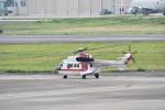 ja0hleさんが、名古屋飛行場で撮影した朝日航洋 AS332L1 Super Pumaの航空フォト(写真)
