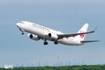 きゅうさんが、新千歳空港で撮影した日本航空 737-846の航空フォト(写真)