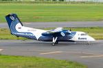 きゅうさんが、新千歳空港で撮影したオーロラ DHC-8-201Q Dash 8の航空フォト(写真)