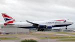 誘喜さんが、ロンドン・ヒースロー空港で撮影したブリティッシュ・エアウェイズ 747-436の航空フォト(写真)