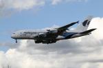 さんみさんが、ロンドン・ヒースロー空港で撮影したマレーシア航空 A380-841の航空フォト(写真)