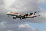 さんみさんが、ロンドン・ヒースロー空港で撮影したイベリア航空 A340-642の航空フォト(写真)