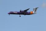 さんみさんが、ロンドン・ヒースロー空港で撮影したフライビー DHC-8-402Q Dash 8の航空フォト(写真)