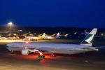 kikiさんが、成田国際空港で撮影したキャセイパシフィック航空 777-367の航空フォト(写真)