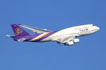 Koba UNITED®さんが、羽田空港で撮影したタイ国際航空 747-4D7の航空フォト(写真)