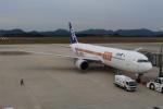 蒼い弾丸さんが、広島空港で撮影した全日空 767-381/ERの航空フォト(写真)