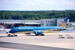まいけるさんが、フランクフルト国際空港で撮影したベトナム航空 787-9の航空フォト(写真)