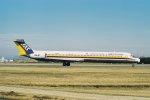 ゴンタさんが、名古屋空港で撮影した日本エアシステム MD-81 (DC-9-81)の航空フォト(写真)