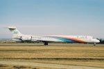 ゴンタさんが、名古屋空港で撮影した日本エアシステム MD-90-30の航空フォト(写真)