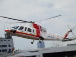 TUILANYAKSUさんが、東京ヘリポートで撮影した朝日航洋 S-76Cの航空フォト(写真)