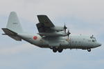 350JMさんが、厚木飛行場で撮影した海上自衛隊 C-130Rの航空フォト(写真)