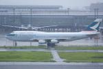 Dreamer-K'さんが、羽田空港で撮影したキャセイパシフィック航空 747-467の航空フォト(写真)