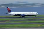 Nao0407さんが、羽田空港で撮影したデルタ航空 777-232/ERの航空フォト(写真)