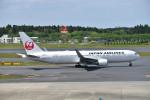 turenoアカクロさんが、成田国際空港で撮影した日本航空 767-346/ERの航空フォト(写真)