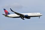 turenoアカクロさんが、成田国際空港で撮影したデルタ航空 767-324/ERの航空フォト(写真)