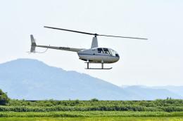 Gambardierさんが、岡南飛行場で撮影した日本法人所有 R44の航空フォト(写真)