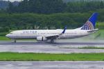 PASSENGERさんが、成田国際空港で撮影したユナイテッド航空 737-824の航空フォト(写真)