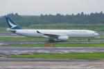PASSENGERさんが、成田国際空港で撮影したキャセイパシフィック航空 A330-342の航空フォト(写真)