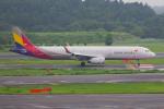 PASSENGERさんが、成田国際空港で撮影したアシアナ航空 A321-231の航空フォト(写真)