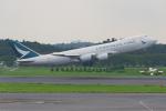 PASSENGERさんが、成田国際空港で撮影したキャセイパシフィック航空 747-867F/SCDの航空フォト(写真)