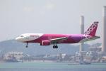 Masahiro0さんが、香港国際空港で撮影したピーチ A320-214の航空フォト(写真)