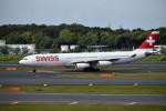 turenoアカクロさんが、成田国際空港で撮影したスイスインターナショナルエアラインズ A340-313Xの航空フォト(写真)