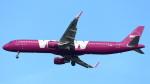 誘喜さんが、フランクフルト国際空港で撮影したWOWエア A321-211の航空フォト(写真)