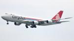 誘喜さんが、香港国際空港で撮影したカーゴルクス 747-8R7F/SCDの航空フォト(写真)
