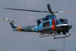 まんぼ しりうすさんが、岐阜基地で撮影した岐阜県警察 412EPの航空フォト(写真)