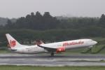 出戻りさんが、成田国際空港で撮影したマリンド・エア 737-9GP/ERの航空フォト(写真)