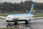 出戻りさんが、成田国際空港で撮影したウズベキスタン航空 767-33P/ERの航空フォト(写真)