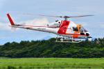 はるかのパパさんが、新潟空港で撮影した朝日航洋 AS355F2 Ecureuil 2の航空フォト(写真)