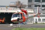 swamp foxさんが、東京ヘリポートで撮影した朝日航洋 AS355F2 Ecureuil 2の航空フォト(写真)