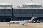 ハピネスさんが、関西国際空港で撮影した金鹿航空 G500/G550 (G-V)の航空フォト(写真)
