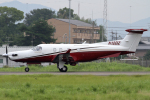 Hariboさんが、名古屋飛行場で撮影したアメリカ企業所有 PC-12/45の航空フォト(写真)