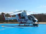 せぷてんばーさんが、日本医科大学千葉北総病院で撮影した朝日航洋 MD-900 Explorerの航空フォト(写真)