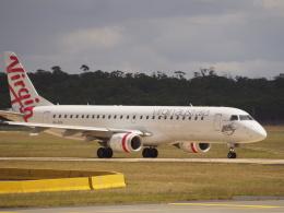 ken1☆MYJさんが、メルボルン空港で撮影したヴァージン・オーストラリア ERJ-190-100 IGW (ERJ-190AR)の航空フォト(写真)